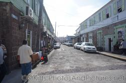 Looking down a street near cruise pier of Basseterre St Kitts.jpg