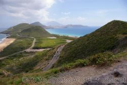 Mountain side roads and hills and ocean and sea in St Kitts.jpg