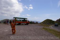 Chariot Tangerine Tours bus in St Kitts.jpg