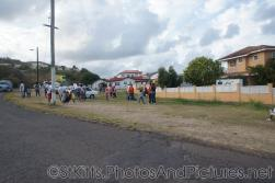People gather at Frigate Bay St Kitts.jpg