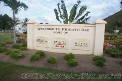 Welcome to Frigate Bay home of Royal St Kitts St Kitts Marriott and Royal Beach Casino sign.jpg