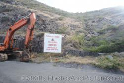 Road closed warning sign in St Kitts.jpg